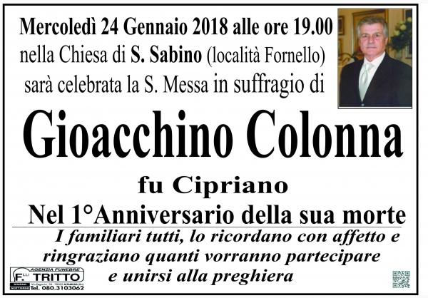 GIOACCHINO COLONNA
