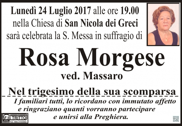 ROSA MORGESE