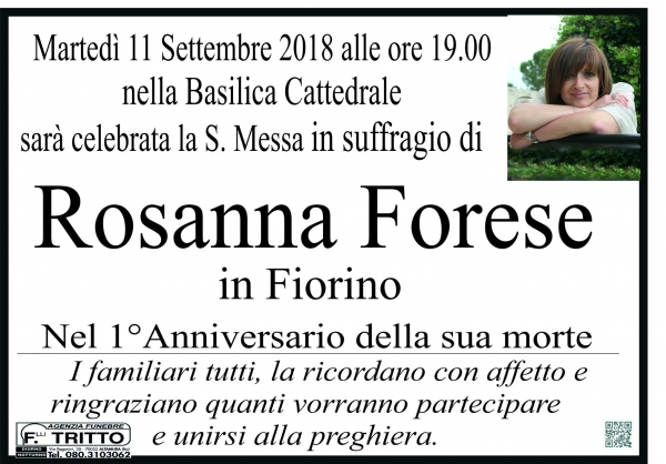 Rosa Anna Forese