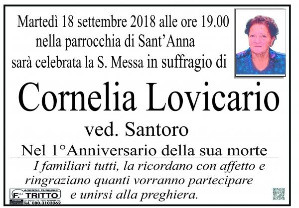 CORNELIA LOVICARIO