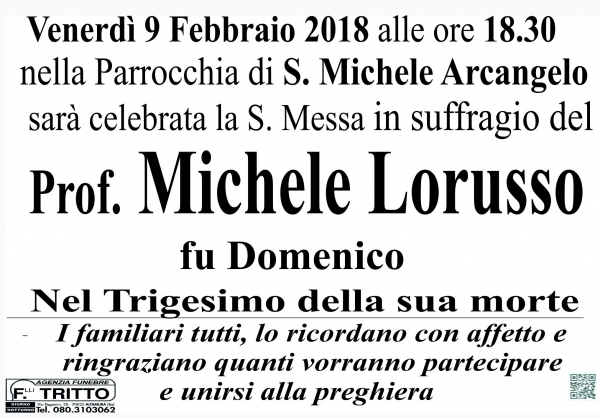 Prof. Michele LORUSSO