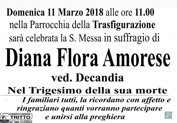 Diana Flora AMORESE
