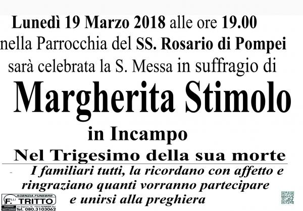 MARGHERITA STIMOLO