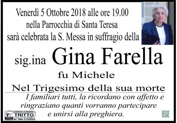 Giacinta Vita (Gina) Farella