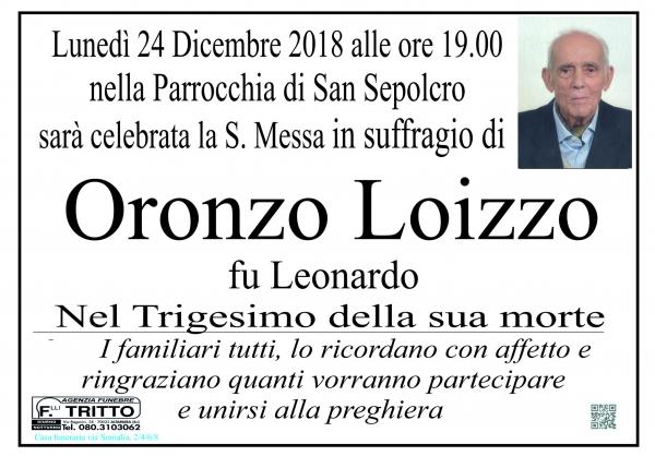 Oronzo Loizzo