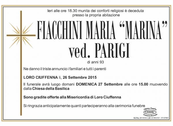 Maria Fiacchini
