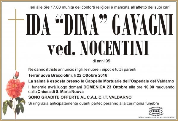"""Ida """"Dina"""" Gavagni"""