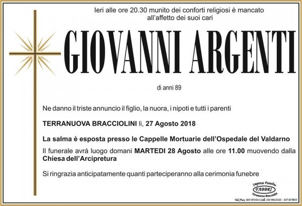 Giovanni Argenti