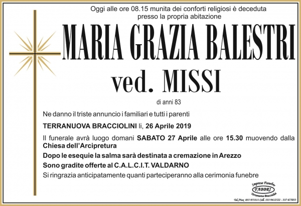 Maria Grazia Balestri