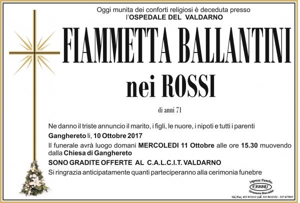 Fiammetta Ballantini
