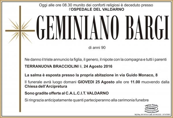 Geminiano Bargi
