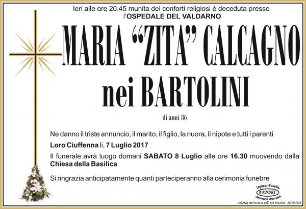 """Maria """"Zita"""" Calcagno"""