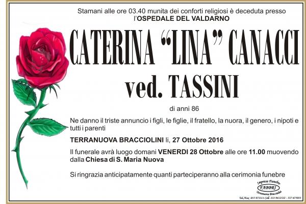 """Caterina """"Lina"""" Canacci"""
