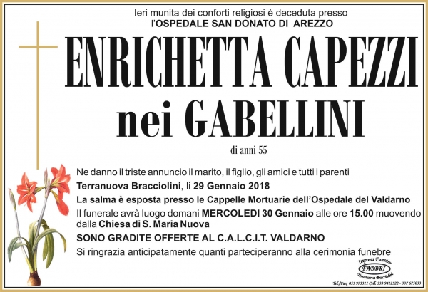 Enrichetta Capezzi