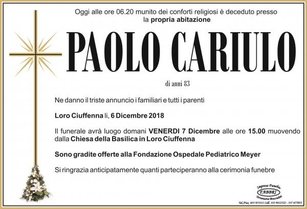 Paolo Cariulo
