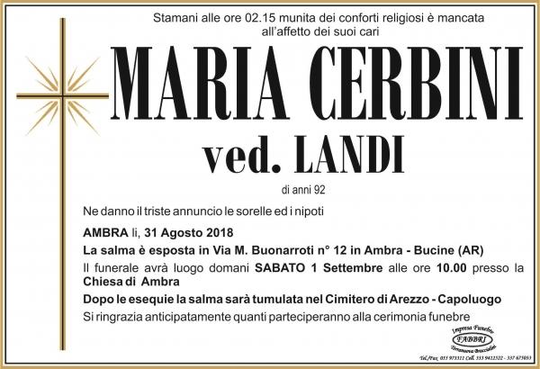 Maria Cerbini
