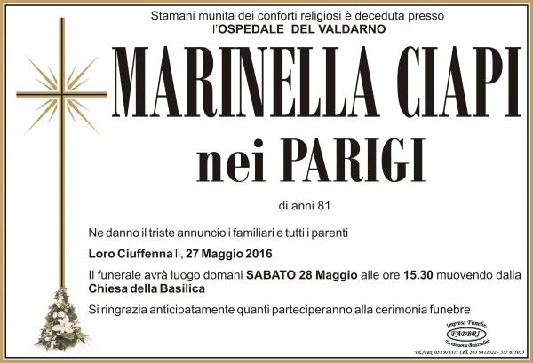 "Maria ""Marinella"" Ciapi"