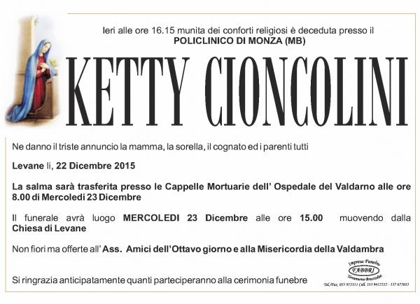 Ketty Cioncolini