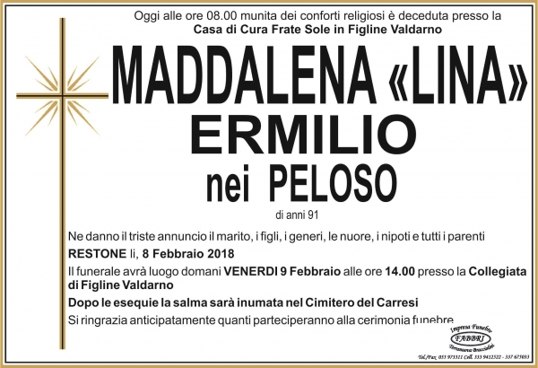 "Maddalena ""Lina"" Ermilio"
