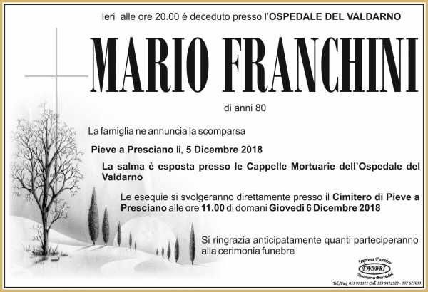 Mario Franchini