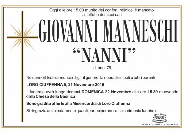 Giovanni Manneschi