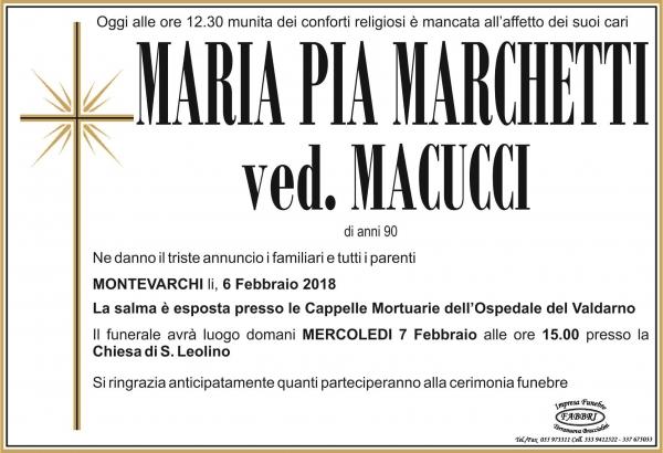 """Maria """"Pia"""" Marchetti"""