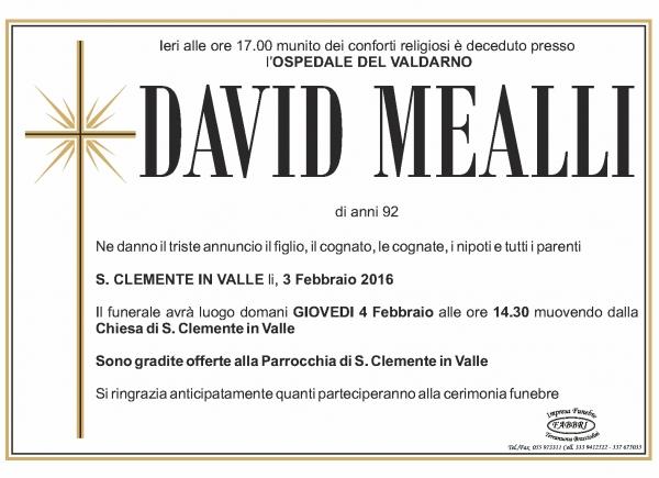 David Mealli