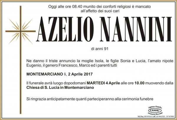 Azzelio Nannini