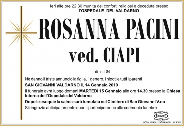 Rosanna Pacini