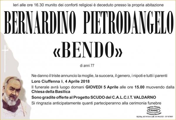 Bernardino Pietrodangelo