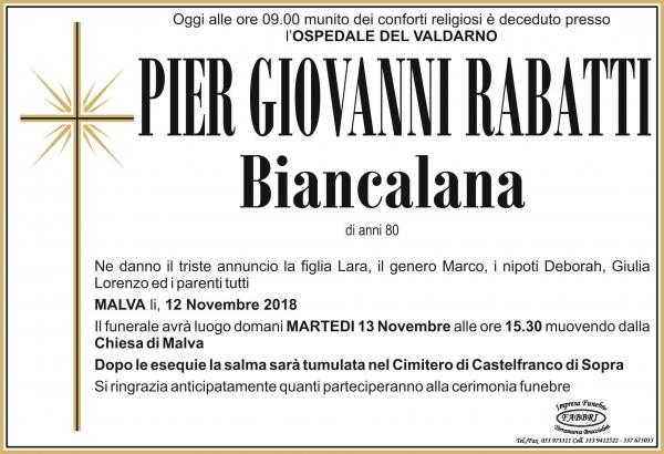 Pier Giovanni Rabatti