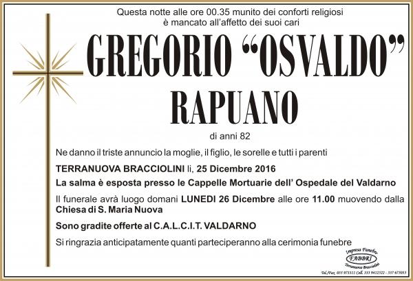 "Gregorio ""Osvaldo"" Rapuano"