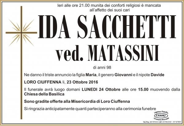 Ida Sacchetti