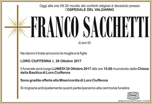 Franco Sacchetti
