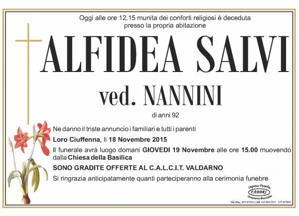 Alfidea Salvi
