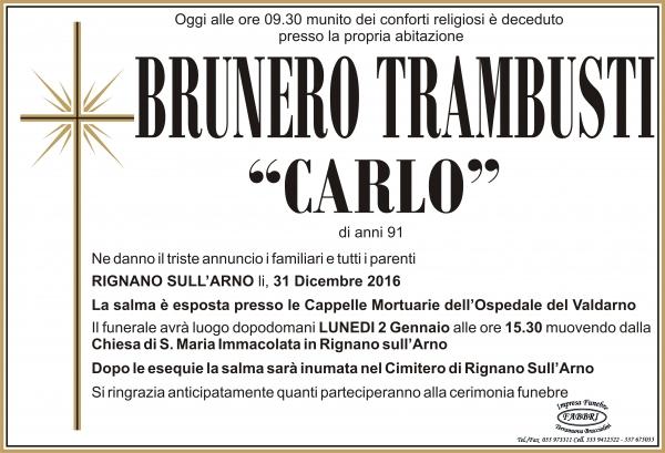"Brunero ""Carlo"" Trambusti"