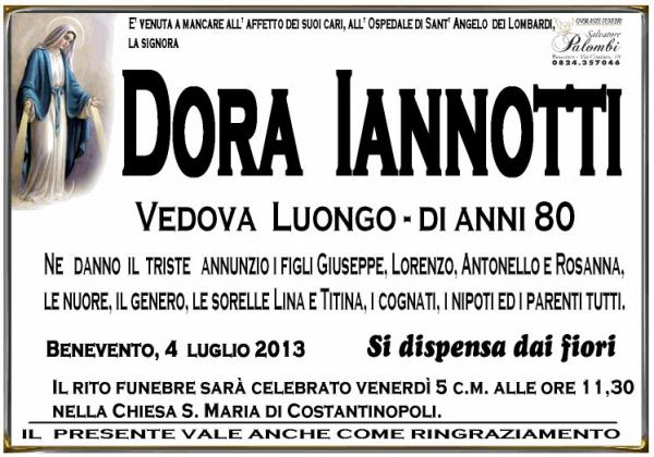 Dora Iannotti