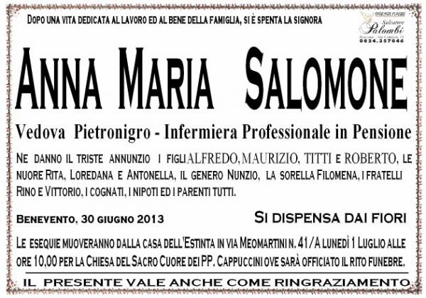 Anna  Mercurio Salomone