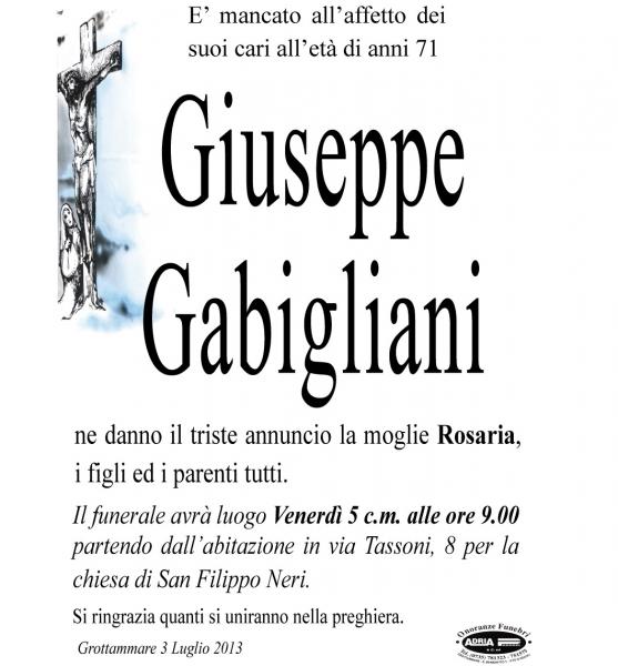 Giuseppe Gabigliani