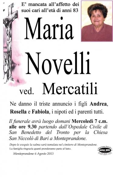 Maria Novelli