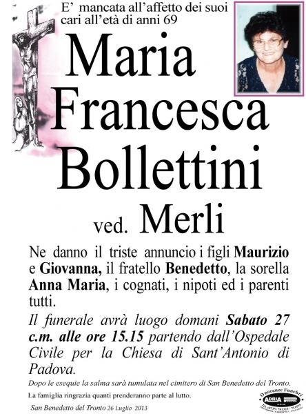 Maria Francesca Bollettini