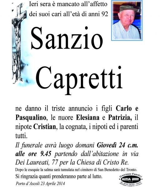 Sanzio Capretti