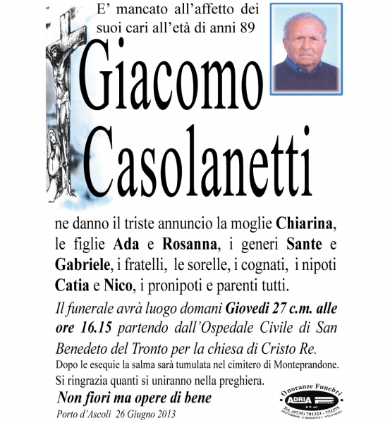 Giacomo Casolanetti