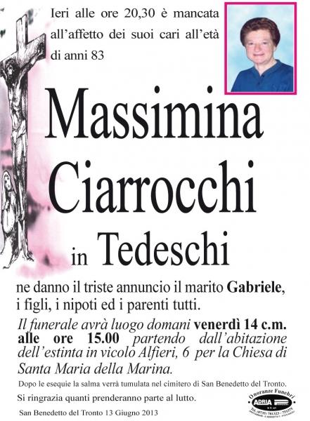 Massimina Ciarrocchi