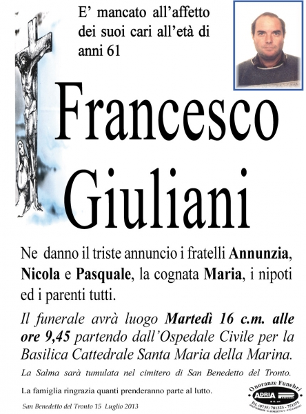 Giuliani Francesco