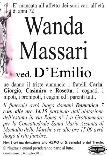 Wanda Massari