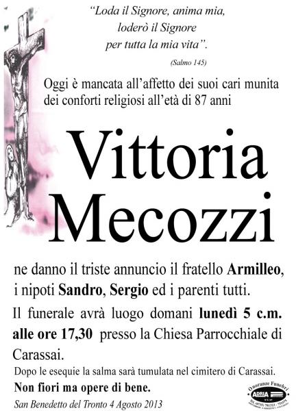 Vittoria Mecozzi