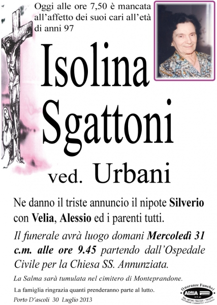 Isolina Sgattoni