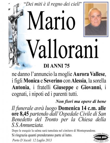 Mario Vallorani