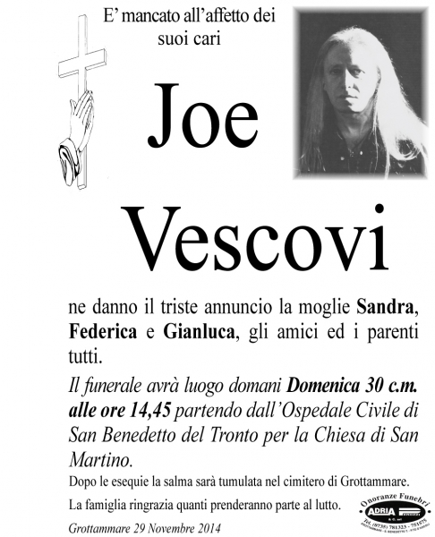Joe Vescovi